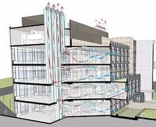 Өндөр барилгын агаар сэлгэлтийн системийн төлөвлөлт