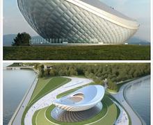 Архитектурын ухаалаг шийдэл бүхий бүтээн байгуулалт