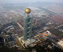 БНХАУ-ын хамгийн баян тосгоны тэнгэр баганадсан зочид буудал