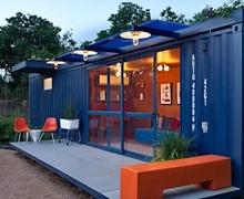 Контейнерээр бүтээсэн тохилог байшин