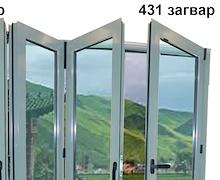 Италийн SAVIO системийн гулсаж эвхэгддэг  хаалга