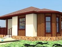 59м2 бүхий СИП технологийн байшин