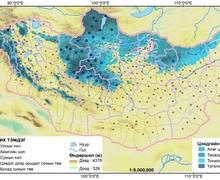 Монгол орны цэвдэг, хүйтний үзэгдлийн тархалтын судалгаа