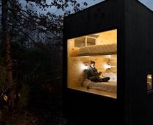 Бүхнээс зугтмаар санагдсан бол ойн гүн дэх бяцхан байшин руу очоорой