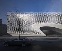 Нарны хурц туяанаас хамгаалах гоёмсог фасадыг бүтээжээ