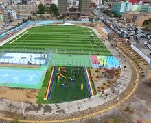 Олон улсын стандартад нийцсэн иж бүрэн спортын талбай нээгдлээ