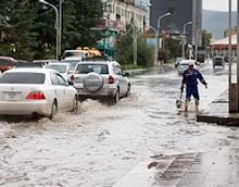 """""""E-mart"""" орчмын борооны ус зайлуулах шугамын ажил наадмын өмнө дуусна"""