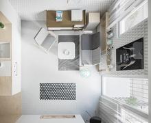 20м2 талбайд багтаасан 2 өрөө орон сууц