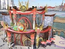 Үндэсний түүх соёлыг сурталчилсан бүтээн байгуулалтуудыг Хятад улсаас харж болно