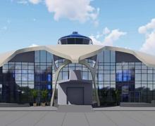 """Улсын төсвийн хөрөнгөөр """"Дэлүүн болдог"""" нисэх буудал баригдаж эхэллээ"""