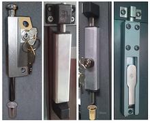 Хаалгыг салхины савалтаас хамгаалах, онгойлтын хэмжээг хязгаарлах боломж ба нэмэлт түгжээ