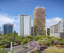 Цэвэр агаар үйлдвэрлэдэг 32 давхар 'Rainbow Tree' сүндэрлэн босно