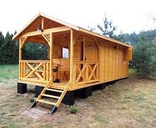 Зуслангийн газартаа хялбархан барьж болох модон байшингийн санаа
