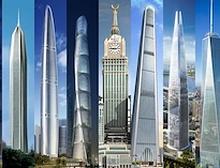 Дэлхийн хамгийн өндөр 10 бүтээн байгуулалтын тав нь Хятад улсад  баригдаж байна