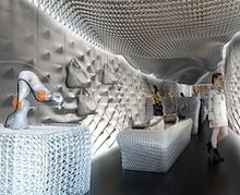 60 мянган ширхэг хуванцар саваар 3D интерьерийн өвөрмөц шийдэл гаргажээ