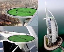 Дээвэр дээрх теннисний талбай