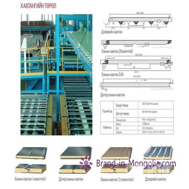 Db panel system - Сэндвич хавтан