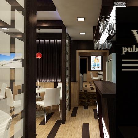 """""""West pub""""-ийн интерьер, экстерьер дизайн"""