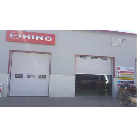 Үйлдвэр, агууллах автомат гүйдэг хаалга