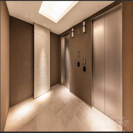 Японы өндөр технологийн гадна фасад, дотор заслын чулуун будаг