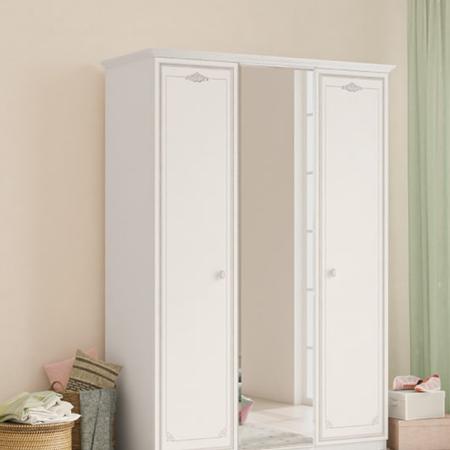 Selena Grey - 3 хаалгатай шкаф