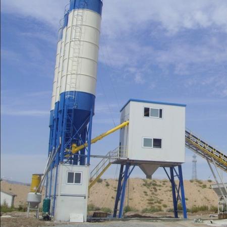Бетон зуурмагийн үйлдвэр HZS60