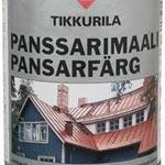 Гадна заслын металл гадаргууны-Тиккурила Панссаримаали будаг