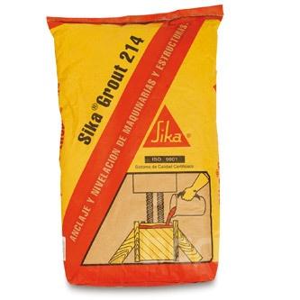 Уян налархай, 750 маркийн бетоны бэлэн зуурмаг, Sika Grout 214