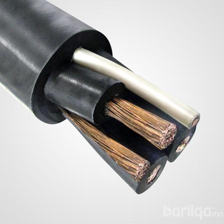 Зэс голтой, хөдөлгөөнт механизмд зориулсан КГпЭ-ХЛ кабель