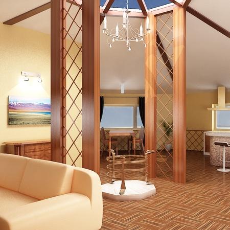 Д.Оюунхүүгийн гэр сууцны интерьер, экстерьер дизайн