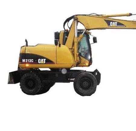 CAT - Wheel Excavator M313D