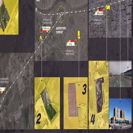 Хуучин 22н товчоонд зам дагуу газар зарна.