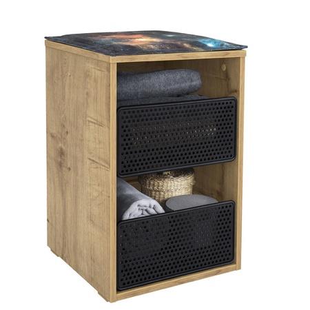 Wood metal - Caisson