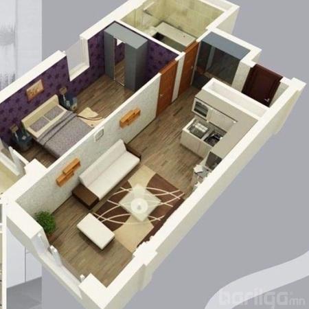 СХД, Содон хороололд 49,99 мкв 2 өрөө орон сууц худалдана.