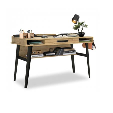 Wood metal - Хичээлийн ширээ (том)