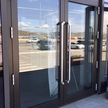 Ronchetti системийн дотор болон гадна зориулалтын хөнгөн цагаан хаалга