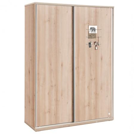 Duo - Гүйдэг хаалгатай шкаф