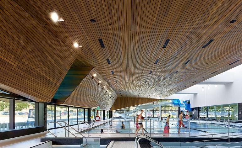 Усан бассейны архитектур төлөвлөлт