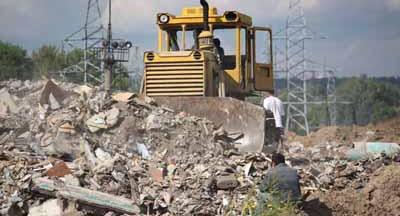 Барилгын хог хаягдлын үйлдвэрийн төсөлтэй Нийслэлийн удирдлагууд танилцав