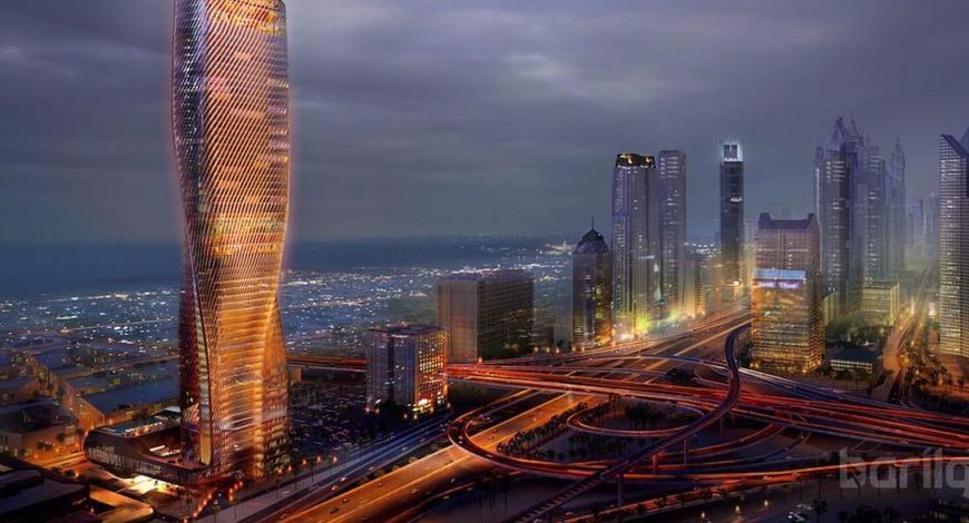 Керамик фасадтай дэлхийн хамгийн өндөр барилга Дубайд сүндэрлэнэ