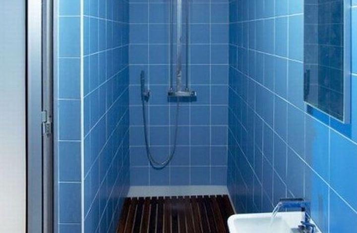 Цэнхэр өнгө ба угаалгын өрөө
