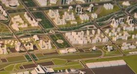 Шинэ нисэх буудлыг дагаж 100 мянган хүн амтай хот босно