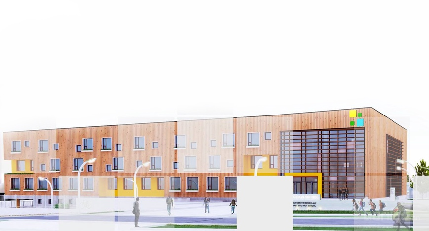 """Ногоон барилга бүхий """"Нарны  сургууль"""" 2019 онд ашиглалтад орно"""