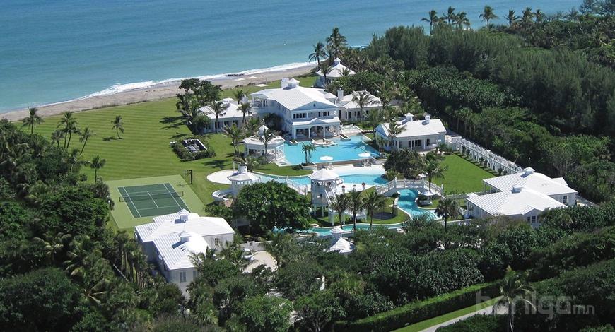 Селион Дионы 62,5 сая долларын үнэтэй байшин