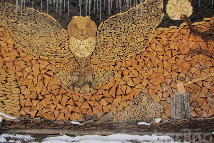 Модоор урласан гайхалтай бүтээлүүд