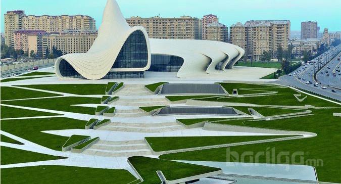 Барилга урлаг 2-ыг хослуулагч алдарт архитекторч Заха Хадидын  гайхамшигт бүтээн байгуулалт